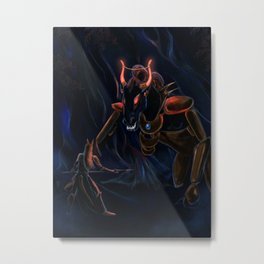 The Ancient Battle Metal Print