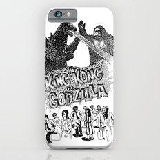 Godzilla .vs. King Kong iPhone 6s Slim Case