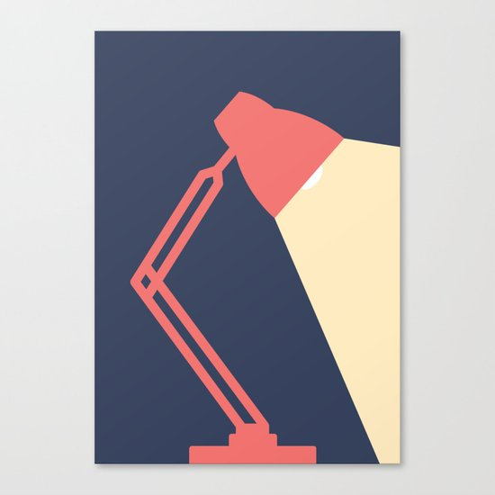 #14 Lamp Canvas Print