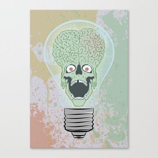 Think Martian  Canvas Print