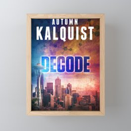Decode in Downtown Seattle Framed Mini Art Print