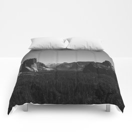 Tunnel View, Yosemite National Park IV Comforters