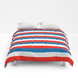 crimea faroe Wichita flag stripes Comforters