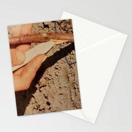 Børns-Blue Madonna Stationery Cards