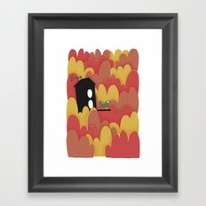 Birdhouse n.2 Framed Art Print