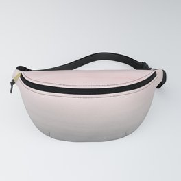 Touching Blush Gray Watercolor Abstract #2 #painting #decor #art #society6 Fanny Pack