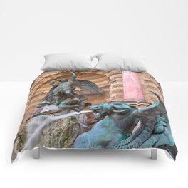 Saint-Michel Fountain Comforters