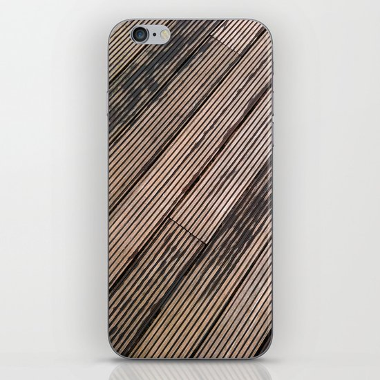 Lines at the ground iPhone & iPod Skin