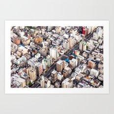Tokyo Street Art Print