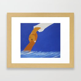 Saved by the Son Framed Art Print