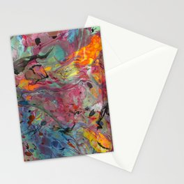 Abstract Painting ; Cosmos Stationery Cards