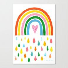 The Rain Gives You The Rainbow Canvas Print