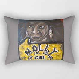 Oda Mae Brown Rectangular Pillow
