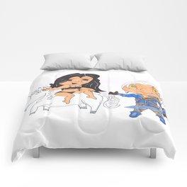 sexy time on unicorn Comforters