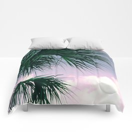 Sunset Palms jungalo tropical Comforters