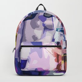 Abstract Daffodil Backpack