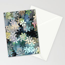 Boho Flower Garden Stationery Cards