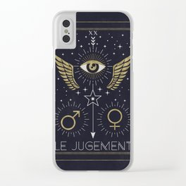 Le Jugement or The Judgement Clear iPhone Case