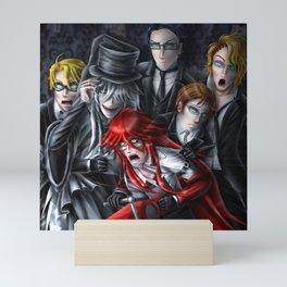 Haunted House Reapers Mini Art Print