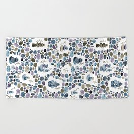 Wishing stones and cairns Beach Towel