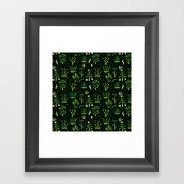 Bunny Forest Framed Art Print