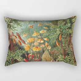 Vintage Plants Decorative Nature Rectangular Pillow