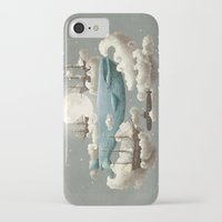 fashion iPhone & iPod Cases featuring Ocean Meets Sky by Terry Fan