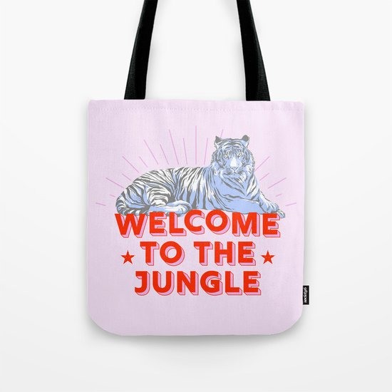 welcome to the jungle - retro tiger by happyplum
