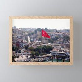 Flag of Turkey Framed Mini Art Print