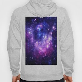Purple Blue Galaxy Nebula Hoody