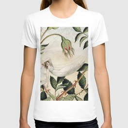 """""""A Fairy Resting in a Hammock"""" by Amelia Jane Murray T-shirt"""