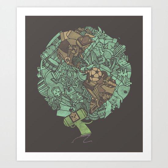 Prince Atlas Art Print