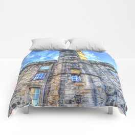 Edinburgh Castle Comforters