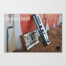 OuterLimit Syntheseizers  Canvas Print