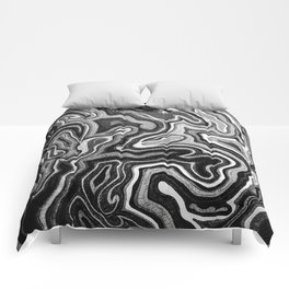 Abstract #1 - I - Silvered Comforters