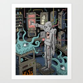 The Experiment Art Print