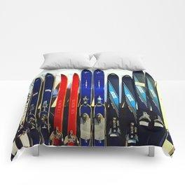 Vintage Ski Collection Comforters