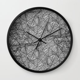 Pattern psychedelia Wall Clock