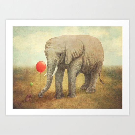 Truce Art Print