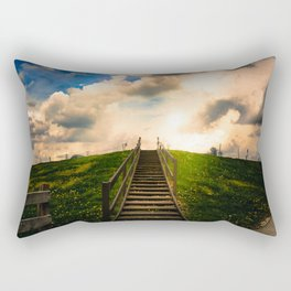 2 | Stairway to Somewhere Rectangular Pillow