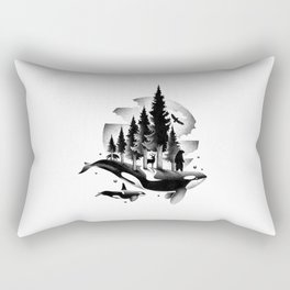 GREETINGS FROM THE PACIFIC NORTHWEST Rectangular Pillow