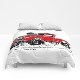 1946 Chevy Pick-up – RED Comforters