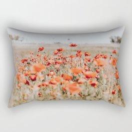 flower field Rectangular Pillow