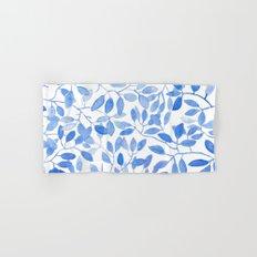Watercolor Leafs Hand & Bath Towel