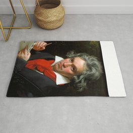 Ludwig van Beethoven (1770-1827) by Joseph Karl Stieler, 1820 Rug