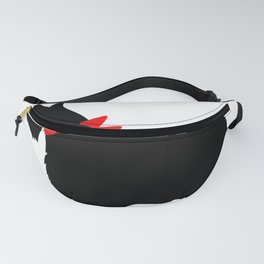 Scottie Dog with Red Bow Fanny Pack