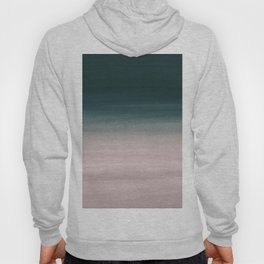 Touching Teal Blush Watercolor Abstract #1 #painting #decor #art #society6 Hoody