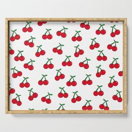 Cherries 1 (on white) Serving Tray