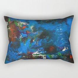 Trippin Through Space and Time Rectangular Pillow