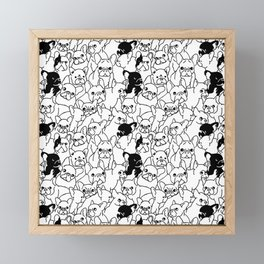 Oh French Bulldog Framed Mini Art Print